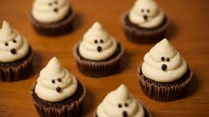 halloween cupcakes electric blue food