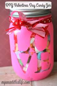 Diy Valentines Day Gift Guide For Friends Family Diy Valentines Day Jar A Great Crafts Or Gift Idea It S A