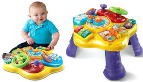 activity desk for vtech learning toys walmart for babies 2 year peek play baby book