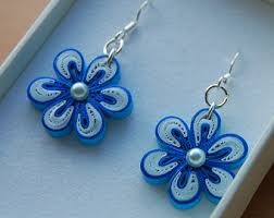 quiling earrings quilled earrings etsy