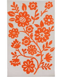 Poppy Area Rug Deal Alert 60 Country Floral Hightail Area Rug Rectangle