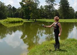 backyard bass pond part 20 this young angler is actually