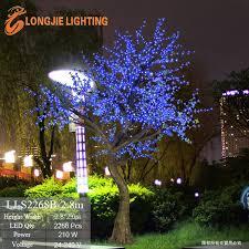 2268 led cherry blossom landscape tree light led outdoor solar