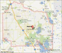 gainesville map alachua county florida map
