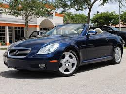 lexus sedan 2005 2005 lexus sc 430 for sale in bonita springs fl stock 065250 16