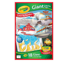 Color By Disney Disney Planes Fire And Rescue Color By Number Grand Rabbits Toys
