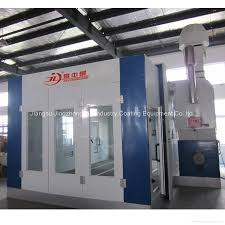 Spray Booth Ventilation System Water Based Paint Spray Booth Model Jzj 9500 China