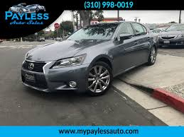 average lease payment of lexus gs 350 used 2013 lexus gs 350 at payless auto sales