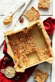 Almond U0026 Coconut Bars Coconut Snack Bars Kind Snacks by Peanut Butter Granola Bars Minimalist Baker Recipes