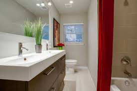 ways to visually expand a small bathroom
