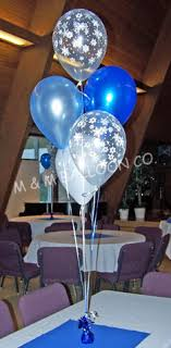 retirement balloon delivery 5 balloon centerpiece using pearlized and printed clear