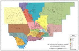 Colorado Political Map by Colorado Springs District Map Adriftskateshop