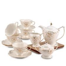 vintage tea set vintage bone china tea coffee milk set tea time