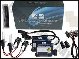 nissan pathfinder xenon lights autovizion hid kit slim xenon 9007 hb5 10000k blue beam conversion