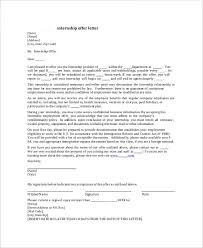 sample job offer letter for internship docoments ojazlink