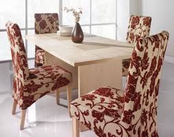 patterned dining room chair covers dining chairs design ideas