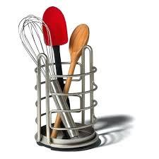 ustensile de cuisine design accessoire cuisine design porte ustensiles en mactal design pot a