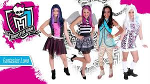 Monster High Doll Halloween Costumes by Sulamericana Fantasias Monster High Youtube