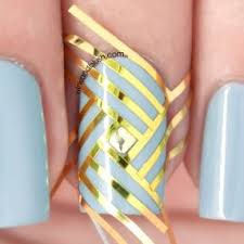 beautiful u0026 elegant 30 striping tape nail art designs 2017 reny
