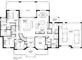 Ranch With Walkout Basement House Plans - ranch house floor plans with walkout basement home interior