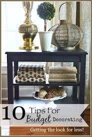 10 tips for decorating on a budget stonegable