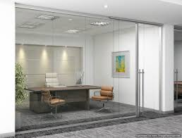 frameless glass demountable wall system by dynamic hive offers a