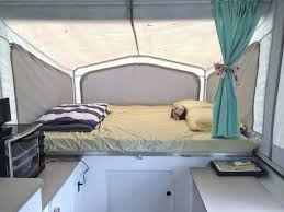 Replacement Pop Up Camper Curtains 5 Tips For Making Over A Popup Trailer Or Any Rv