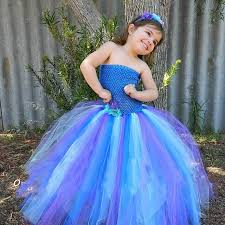 Peacock Halloween Costume Girls Aliexpress Buy Pretty Peacock Baby Tutu Dress Birthday
