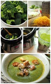 extra green instant pot broccoli cheese soup this pilgrim life