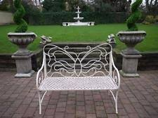 Wrought Iron Bench Seat Wrought Iron Bench Ebay