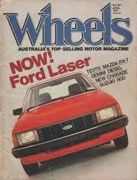 curbside classic 1981 85 ford ka kb laser u2013 a beam of light