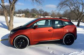 bmw 3i electric car test drive bmw i3 electric vehicle winter update