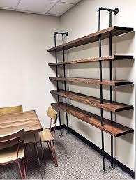 Reclaimed Wood Bookshelf Reclaimed Fixtures Grain Designs