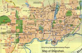 Zhuhai China Map by Shenzhen China Map Maps Of Shenzhen