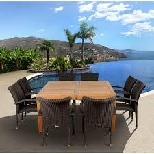 Teakwood Dining Table Outdoor Hton Bay Teak Patio Set Outdoor Teak Wood Furniture