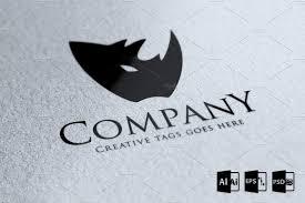 company logo templates rhino company logo template logo templates creative market