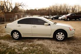 2005 mitsubishi galant es white sedan used car sale