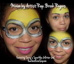 minion face painting super heroes super girls animals