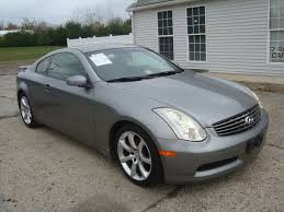 nissan altima coupe or infiniti g35 2004 infiniti g35 coupe salvage rebuildable for sale
