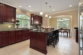 dark mahogany kitchen cabinets agreeable charming office and dark