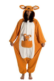 amazon com kigs kangaroo costume kigurumi onesie pyjamas
