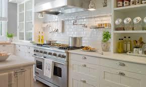 what color backsplash with white quartz countertops beveled subway tile backsplash transitional kitchen