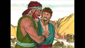 bible stories for children jacob wrestles with an angel and meets