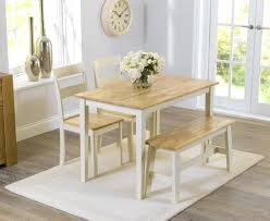 small rectangular dining table with bench long narrow a uk style