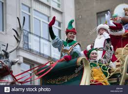 manhattan new york usa november 27 2014 santa claus attends