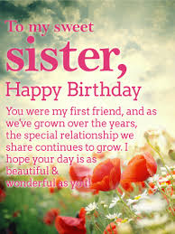 a beautiful day happy birthday wishes card for
