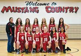 mustang middle mustang basketball team makes playoffs