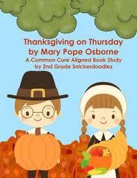 thanksgiving on thursday a common aligned book study tpt