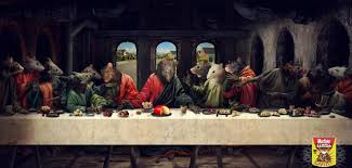 print advert by last supper ads of the world
