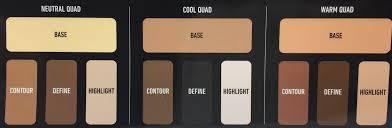 kat von d shade light eye contour quad kat von d shade and light eye contour palette review swatches